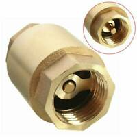 1/2'' DN15 Copper In-Line Spring Vertical Check Valve Tool Stop Valves au