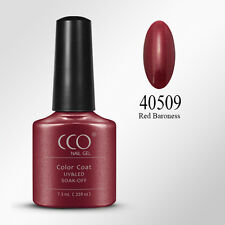 CCO UV Led Nail Gel Polish 509 Red Baroness