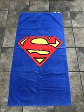 Rare VTG 2000 DC Comics Superman Collectible Beach/Bath Towel