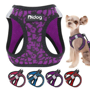 Step In Dog Harness Extra Small Breathable Mesh Walking Vest Reflective Yorkie