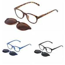 Plastic Reading Glasses Clip-on Sunglasses Magnetic Mens Womens +1.00~3.50 H761
