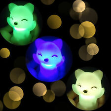 Gift LED Night Light Fox Design Lamp 7 Color Changing Lamp Child Gift Toy