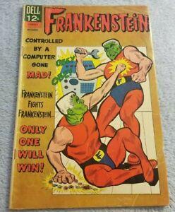 Frankenstein #3 - December 1966 - Dell Comics - Comic Book