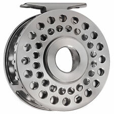 CNC MACHINED ALUMINUM CLASSIC CLICK STOP FLY FISHING REEL 5/6 LIGHT WEIGHT 86MM