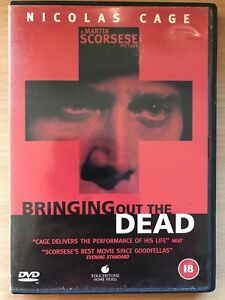 Bringing out the Dead DVD 1999 New York Paramedic Drama Movie w/ Nicolas Cage