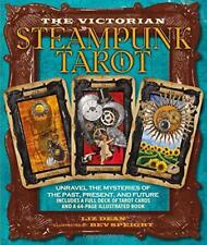 Victorian Steampunk Tarot by Liz Dean and Bev Speight | Paperback Book | 9781782