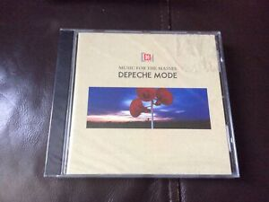 DEPECHE MODE MUSIC FOR THE MASSES CD ALBUM NEW AND SEALED K1