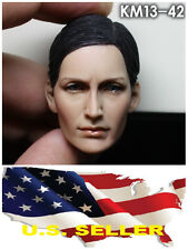 KUMIK 13-42 Carrie-Anne Moss 1/6 Head Sculpt for Custom Female Body #US SELLER#