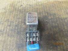 Potter & Brumfield Relay KHS17A13 120V w/ Base No Model Number Used