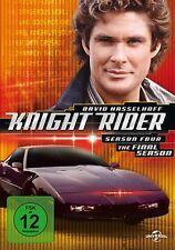 6 DVDs * KNIGHT RIDER - KOMPLETTE SEASON 4 - David Hasselhoff # NEU OVP +