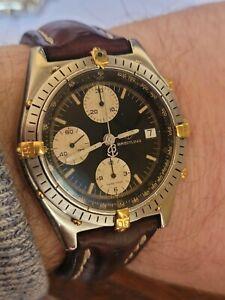 Breitling Chronomat Windrider SS/18K Gold Men watch with box