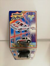 Matchbox Action Turbo 2 Peugeot 205 Silver 1987 in the original packaging