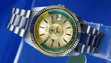 Dalil Star Muslim Automatic Watch 1970s Vintage Swiss NOS New Old Stock FE 5611