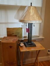 NEW -Vintage Stiffel table lamps NEW OLD STOCK #6306 (still in box) 15lbs  heavy