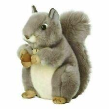 Aurora Miyoni Squirrel Soft Toy - Grey,10 in (26172)