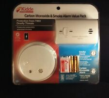 KIDDE SMOKE AND CARBON MONOXIDE DETECTOR COMBINATION PACK