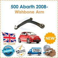 For Fiat 500 1.4 Abarth 2008- Left Lower suspension Wishbone Arms New