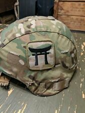 Ceradyne Enhanced Combat Helmet Med Ech Ops Core Multicam 101st 187th Ir