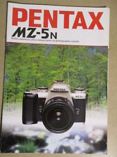 PENTAX : CATALOGUE : MZ-5n 07/1997