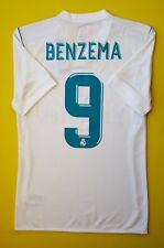 5+/5 Benzema Real Madrid jersey adizero authentic shirt SMALL B31097 Adidas