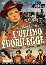 DvD L'ULTIMO FUORILEGGE (1952) Western ** A&R Productions ** ......NUOVO