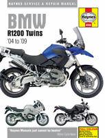 BMW R1200 TWINS 2004 to 2009  HAYNES MOTORBIKE MANUAL 4598 unopened