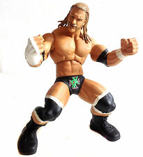 "WWF WWE wrestling 12"" ring giant dégénérescence x triple h toy figure rare!"