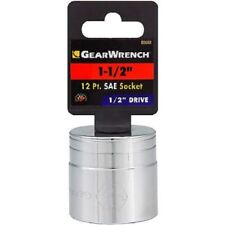 "GearWrench 1/2"" Drive 12 Point Socket 1-1/2 Part #80680"