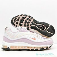 Nike Air Max 98 Women's Running Training Gym Sport White Pink Red CI3709-102