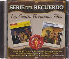 CD  - Serie Del Recuerdo 2 En 1 Los Cuatro Hermanos Silva (Sony)  BRAND NEW !