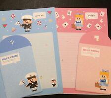 Hello Friend Letter Set - Cute Korean Stationery - Kawaii writing paper