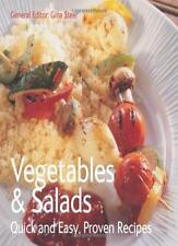 Vegetables & Salads: Quick & Easy, Proven Recipes,Gina Steer