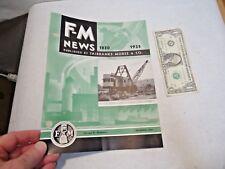 Dec. 1935 Fairbanks Morse & Co. F-M News Magazine Booklet in good shape - NR