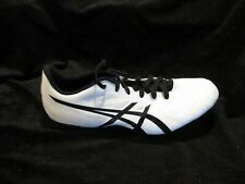 Asics Mens Athletic Running Shoes Size 6 White Silver Black