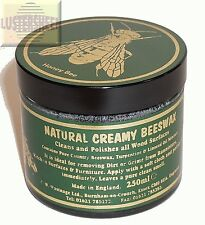 Classic Natural Creamy Beeswax in Dark 250 ml / 8 FL OZ