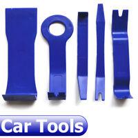 5pcs Blue Plastic Car SUV Dashboard Door Radio Audio Trim Pry Open Removal Tool