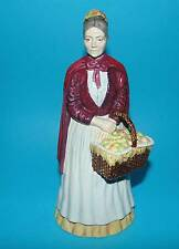 COALPORT figurine ornament ' The apple woman '  (7179)