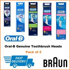 Oral B Genuine Electric Toothbrush Heads (All Types Available) - New in Box