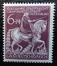 German Empire 907 **, 600 years Oldenburg, plate error f20 SCHANTL Catalogue