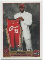 LeBron James Topps Rookie 2003-04 RC #221 - Reprint - Beautiful Card Flawless!