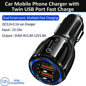 AST CAR CHARGER 3 USB Port For Iphone Samsung Huawei Universal Socket Adapter