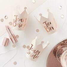 Team Bride Mini Crowns Photo booth props - Hen Party, Wedding, Bachelorette