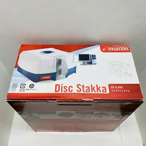 Disc Stakka Imation - Manages CDs And DVDs Inserted Into Your Computer- New!