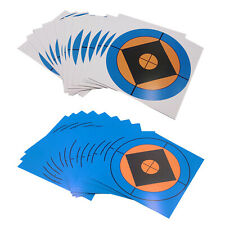 100x Shooting Paper Target High Visibility Self-adhesive Targets for Hunting