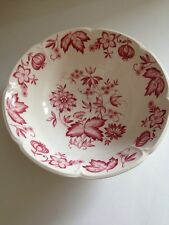 Johnson Brothers China Windsor Ware Mulberry Dover Oval Vegetable Bowl EC