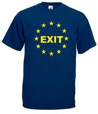 T-shirt Maglietta J1848 No Euro Fuori dall'Unione Europea