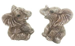 Elephant Ceramic Salt & Pepper Shakers
