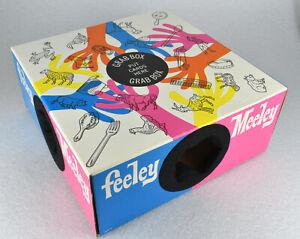 VTG Feeley Meeley GRAB BOX Game Replacement Part Milton Bradley 1967