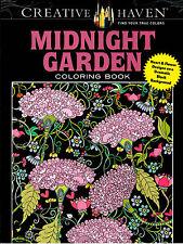 Creative Haven Coloring Bks.: Creative Haven Midnight Garden Coloring-iV