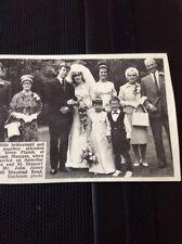 67-1 Ephemera 1965 Picture Susan Plumb John Gavin Wedding Margate